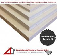Sperrholzplatten IF20 ab 14€/qm Birke Zuschnitt
