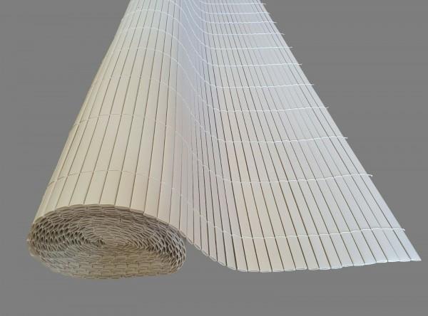 Sichtschutzmatte Sichtschutz PVC Doppelstab Kunststoffmatte