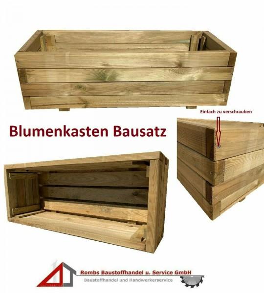 Blumenkasten Pflanzkasten KDI Natur Bausatz