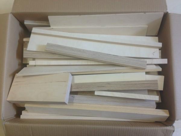 3,00€/kg Reste Sperrholz Multiplex Holzleisten für Bastler