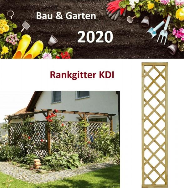 Rankhilfe Rankgitter Rankgerüst KDI Kiefer Spalier Sichtschutz Rankzaun
