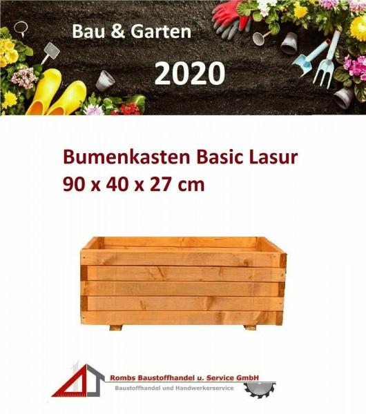 Blumenkasten Pflanzkasten geölt Blumentopf Holzbeet Holztopf