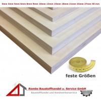 Sperrholzplatte ab 14€/qm feste Größe Birke IF-20