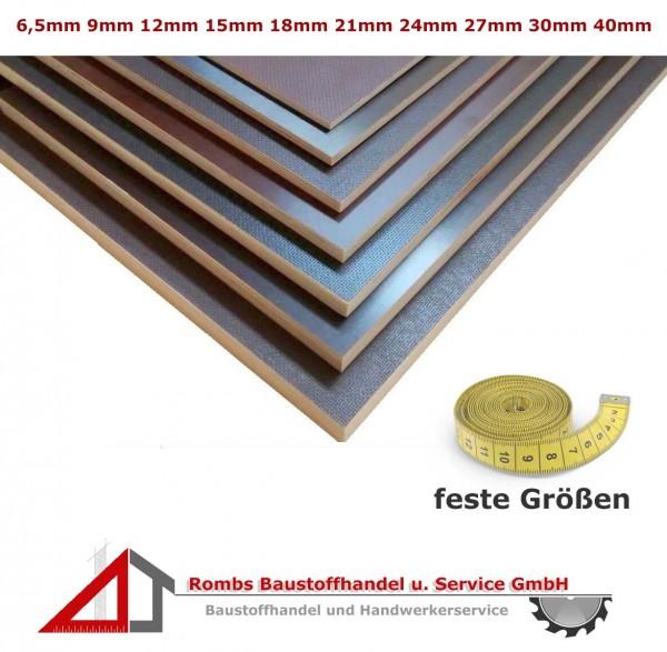 Siebdruckplatte feste Größe ab 30€/qm Birke BFU100