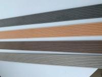 7,95€/m WPC-Terrassendielen Leiste Abschlussleiste Abdeckleiste WPC-Flachleiste