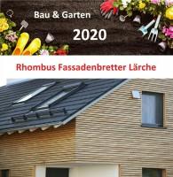 Rhombusleisten 2,95€/lfm sibirische Lärche Fassadenbrett A/B Wandverkleidung Holz
