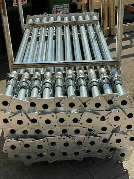 Bausprieße Baustütze Feuerverzinkt Fensterstütze Deckenstütze 2m - 3,5 m