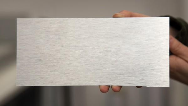 3mm Aluverbundplatte 60€/m² gebürstetes Aluminium Verbundplatte Aluplatte Werbetafel Schild