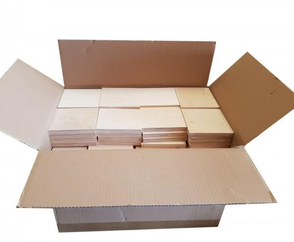 0,35€/St Sperrholz 18mm Holzstücke Bastelholz Multiplex Holz für Bastler