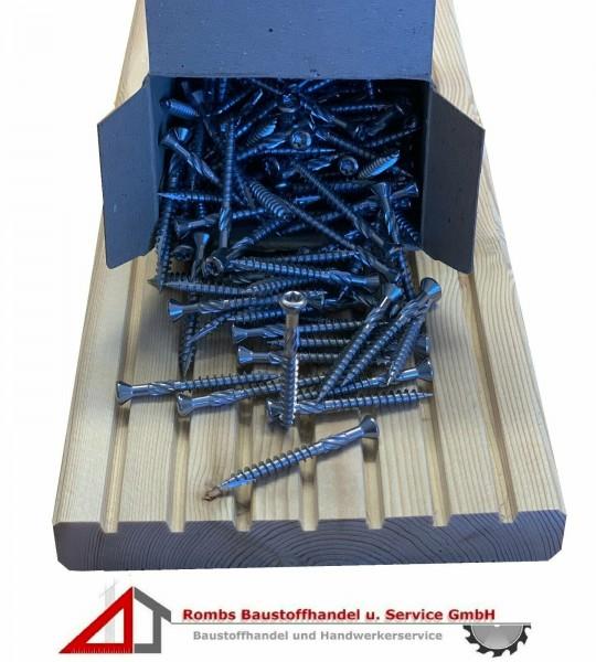 Terrassenschrauben mit CUT-Spitze Edelstahl Terrasse Holzschraube